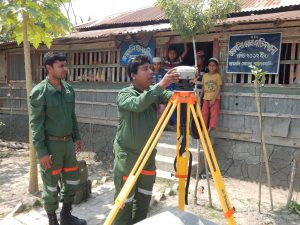 Setting up DGPS base in the Sundarbans