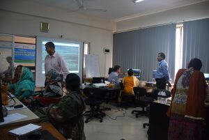 Training on integration for land cover mapping in Bangladesh